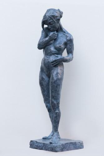 Ybah, Nu Féminin – original en bronze