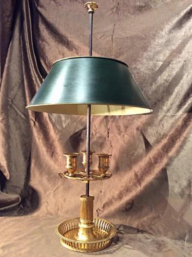 Lampe bouillotte d'époque Directoire