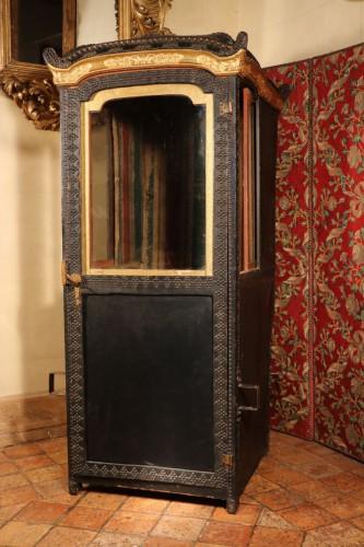 Chaise à porteurs, époque Louis XIV