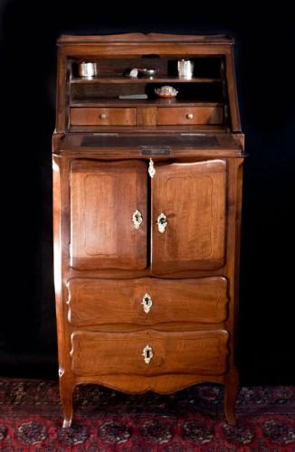 Petit meuble écritoire époque Louis XV