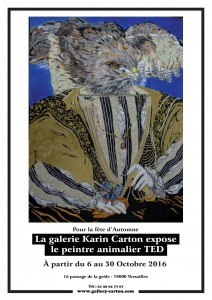 Affiche Ted Karin Carton