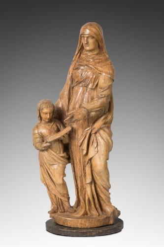 Sainte Anne éducatrice Italie fin du XVI eme siècle