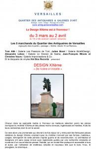 DESIN XX Versailles