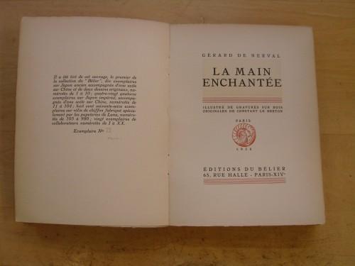 Gérard de Nerval La Main enchantée