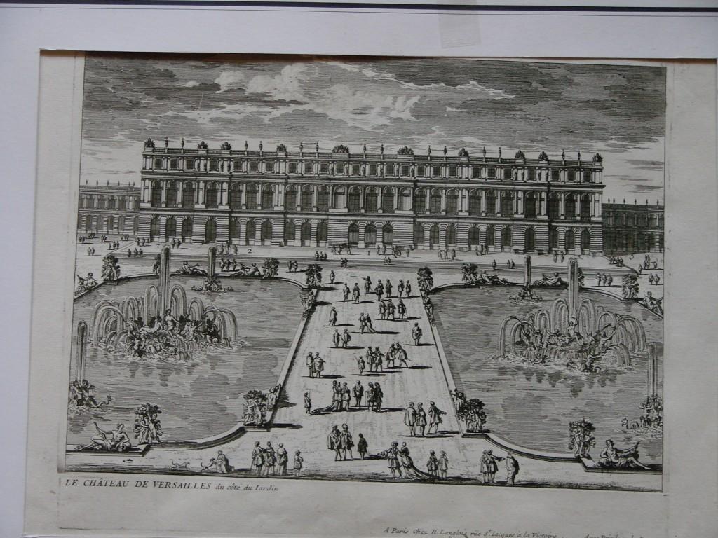 Chateau de versailles cot jardin antiquaires et - Jardin chateau de versailles horaires ...