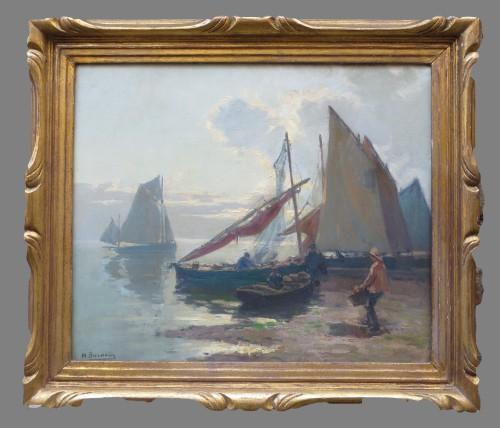Marine Bretonne  par Henri BARNOIN