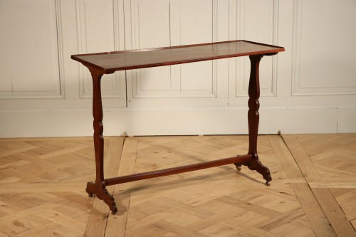 Table en acajou, époque Louis XVI