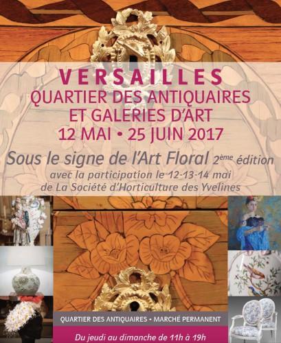 SOUS LE SIGNE DE L' ART FLORAL du 12 MAI au 25 juin 2017