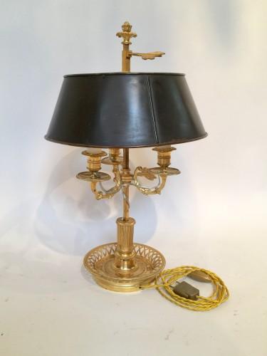 Lampe bouillotte d'époque XX ème siècle.