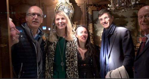 Inauguration de la Fête d'automne dans le quartier des Antiquaires et Galeries d'Art de Versailles
