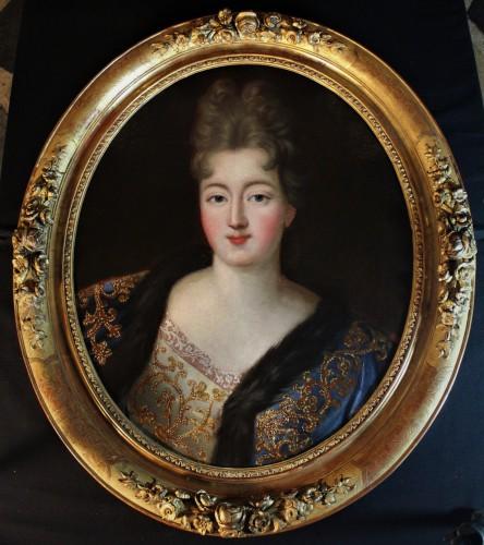 Portrait ovale, Demoiselle de Blois