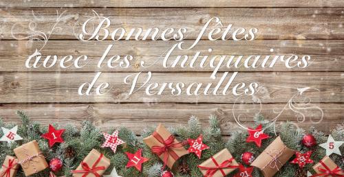 Les Antiquaires de Versailles vous souhaitent une belle année 2019 !