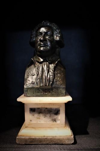 Buste en bronze de Mirabeau