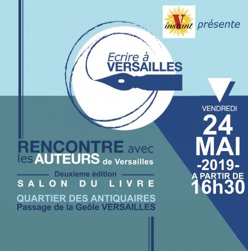 Ecrire à Versailles le 24 mai 2019