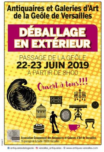 Déballage le 22 & 23 juin 2019