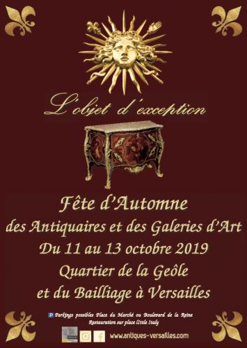 Au programme de la fête d'Automne 2019