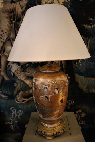 Lampe balustre Satsuma