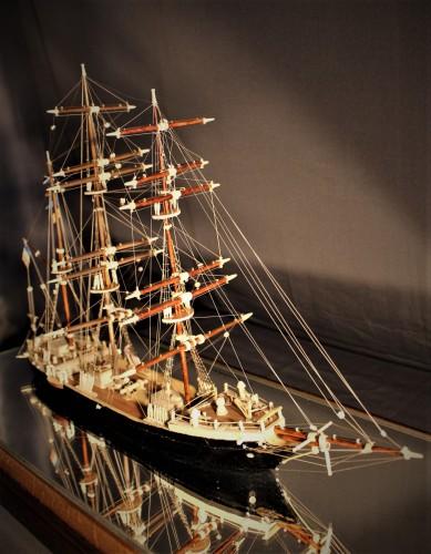 Maquette du bateau «KERZ ATAO BREST»