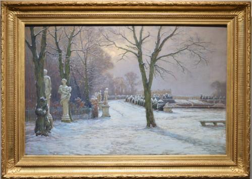 Le parc de Versailles sous la neige 1909. Arthur Rigolot