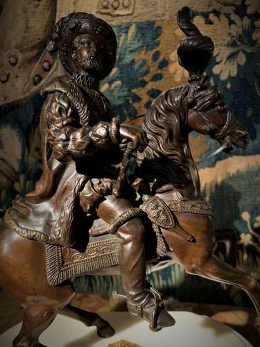 Statue équestre en bronze de François Ier