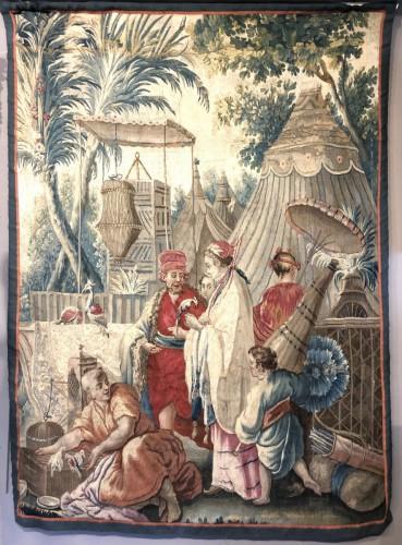 Tapisserie De Beauvais D'époque Louis XVI