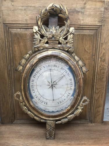 Baromètre Début Du XIXe Siècle De Style Louis XVI