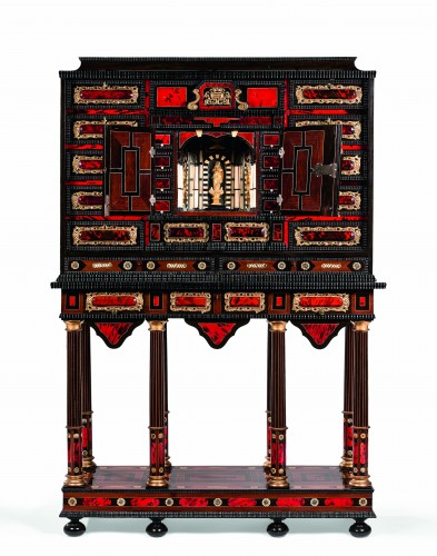 Cabinet flamand XVIIème siècle