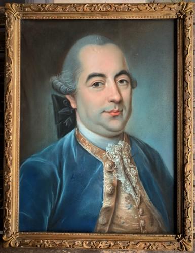 Portrait pastel homme de qualité