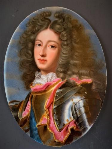 Portrait miniature du Duc de Bourgogne