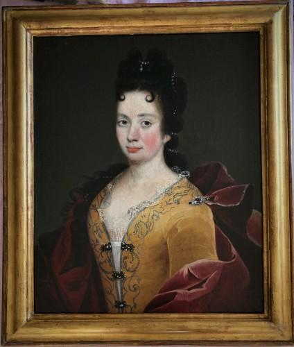 Portrait d'Elisabeth TURPIN fin XVIIème