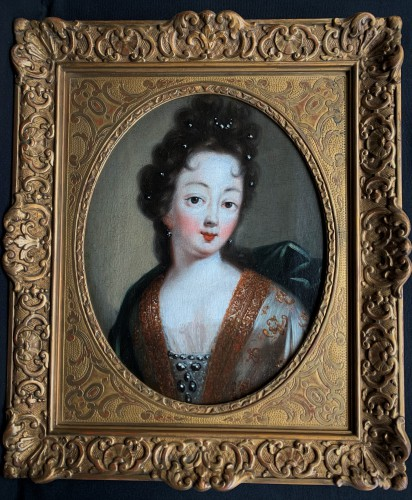 Portrait de Mademoiselle de Nantes XVIIIème