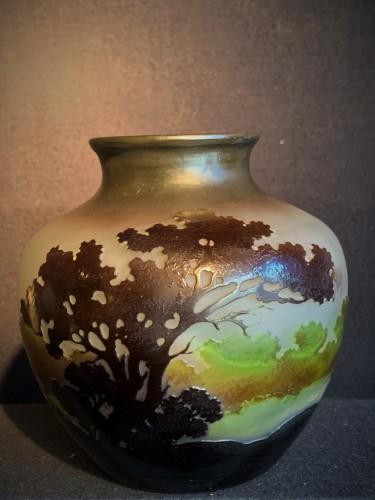 Vase GALLE boule à col